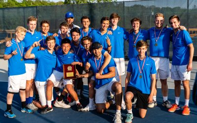 WIN: DARIEN BOYS TENNIS 2019 FCIAC CHAMPS!